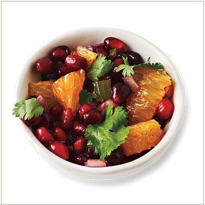 Pomegranate Winter Salsa Recipes — Dishmaps