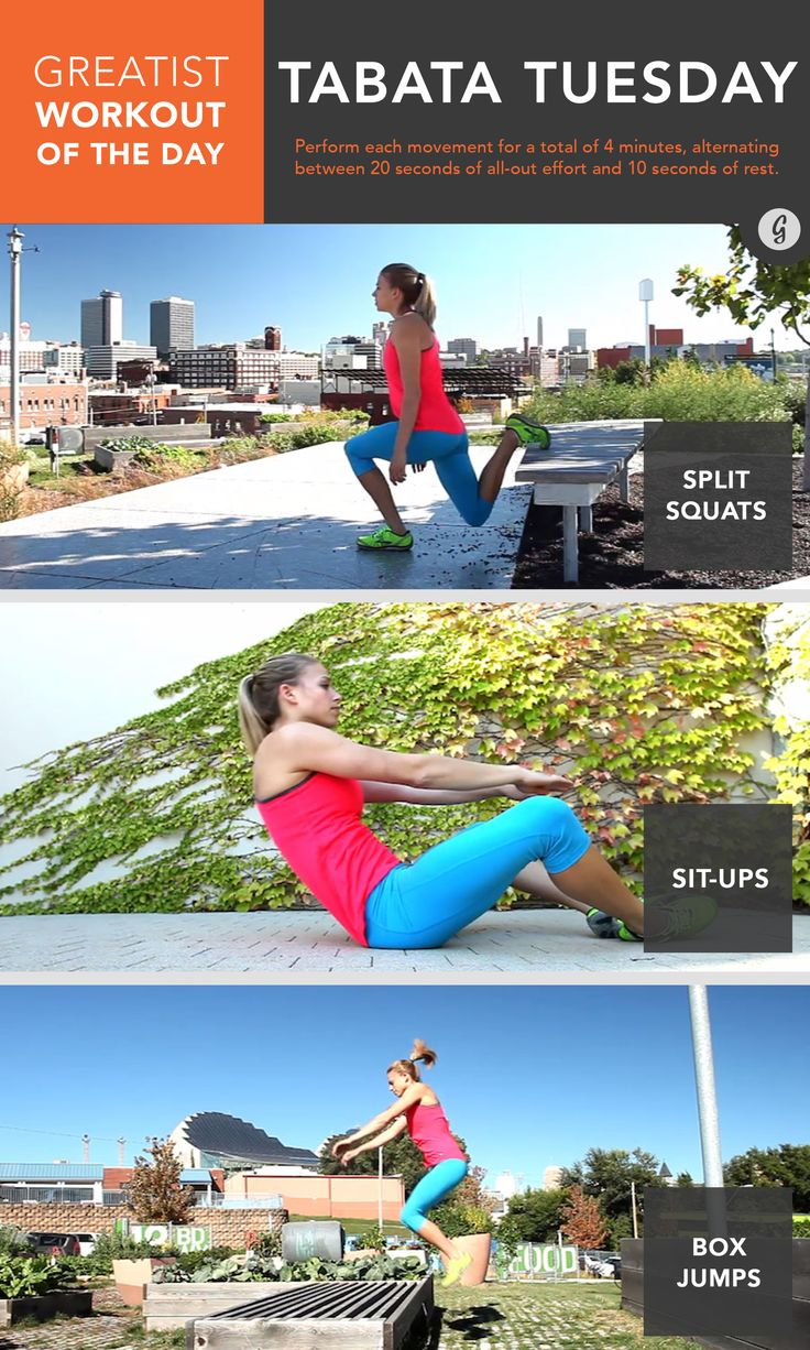 Greatist Workout of the Day: Tuesday, October 7th