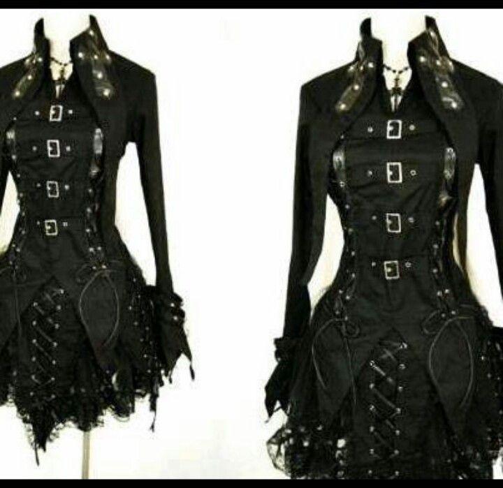 Goth clothing in bavaria