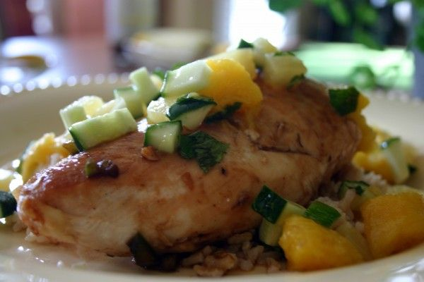 jerk chicken with pineapple mango salsa | to make and eat | Pinterest