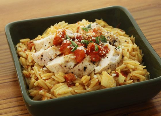 Chicken & Sun Dried Tomato Orzo | Yummy Food | Pinterest