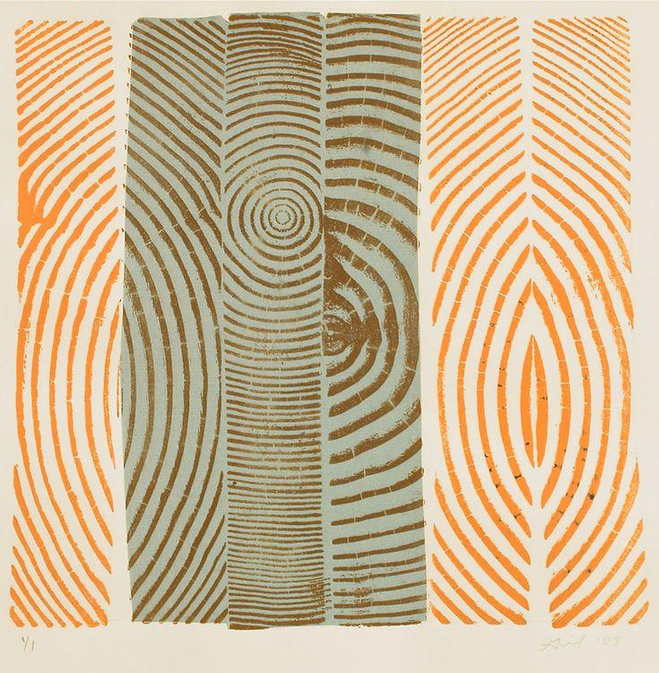 Blue & Orange Woodcuts   Bryan Nash Gill