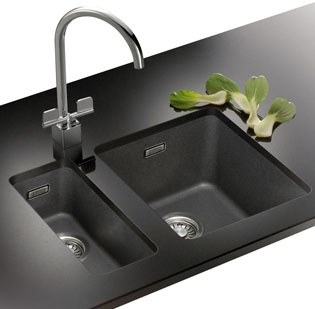 Franke 2 Bowl Sink : Pin by Ashley Kamas on Kitchen redo here we come! Pinterest