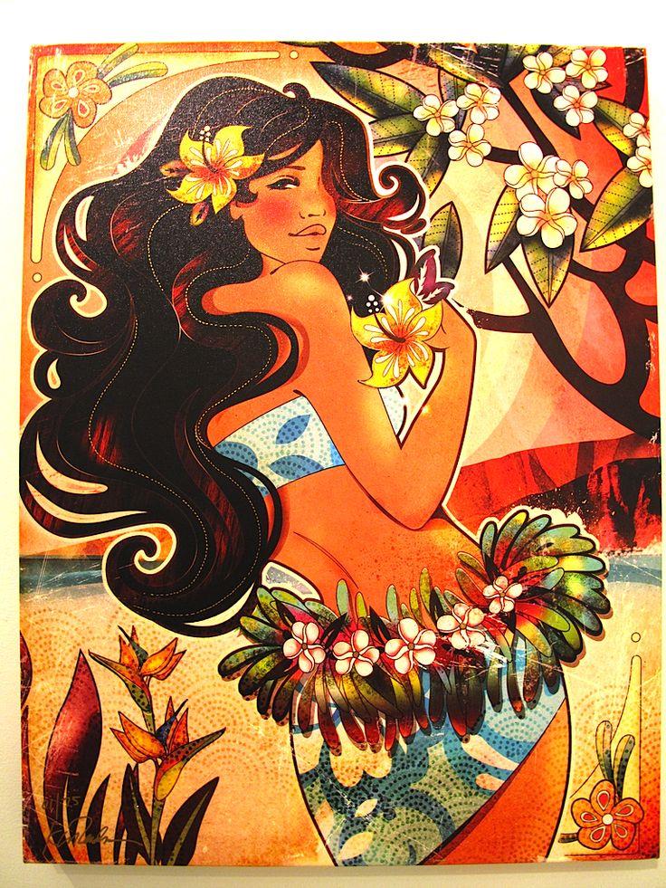 Kat Reeder. love her hawaiian art | The Hawaii I remember ...