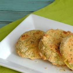 green tomatoes a lighter healthier version of the classic baked green ...