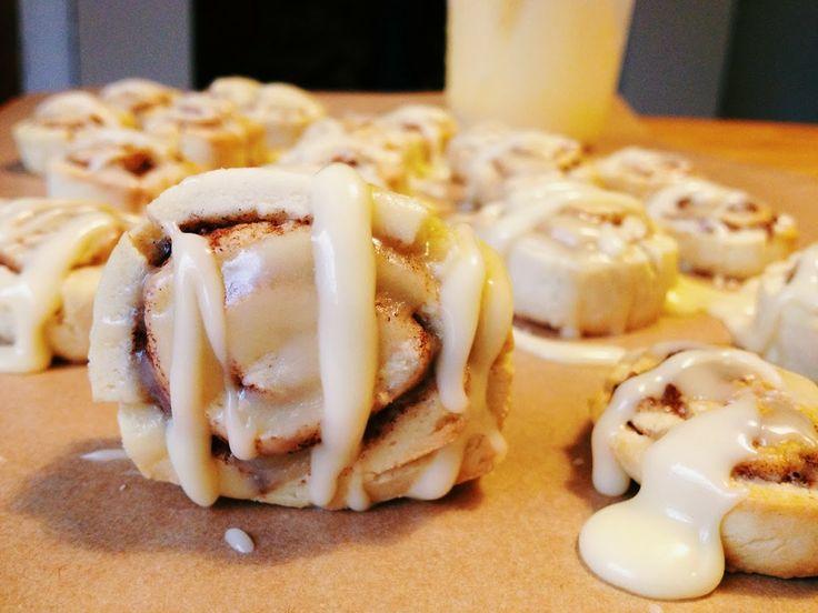 ... , baking and gluten free : Mini Gluten Free Cinnamon Roll Cookies
