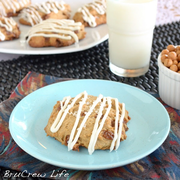 Salted Caramel Mocha Scones | Things to Eat | Pinterest