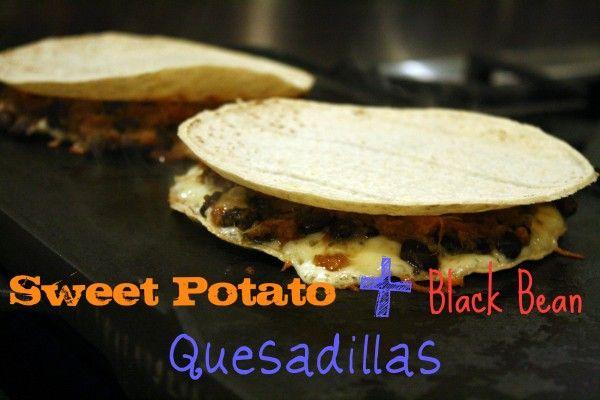 Sweet Potato and Black Bean Quesadillas   Food   Pinterest