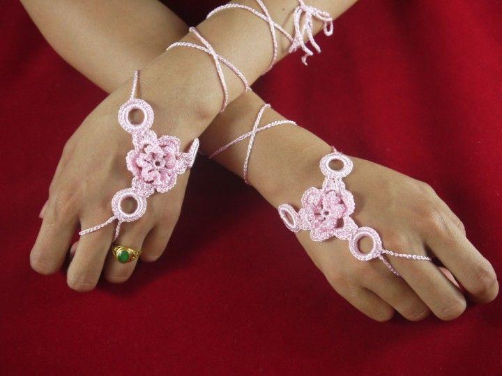 Free Crochet Wedding Jewelry Patterns : Pin by Carol Chirafisi on Crochet & Knitting Pinterest