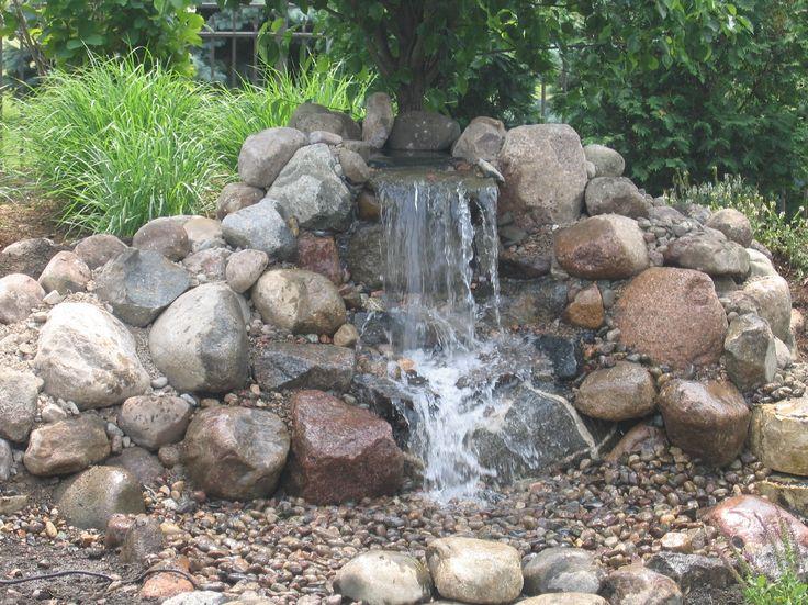 Pondless waterfall yard pinterest for Pondless waterfall