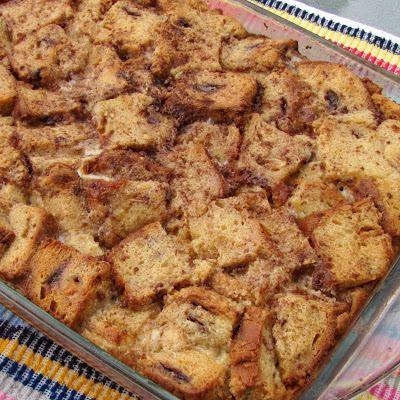 Apple Cinnamon Bread Pudding   RECIPES   Pinterest