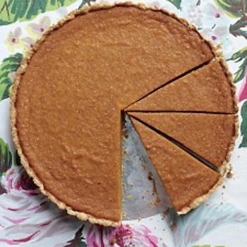 Maple-Pumpkin Tart | Recipes - PIES, TARTS & DANISHES | Pinterest
