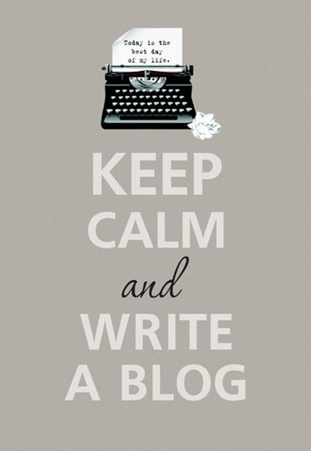 Blog!-remember how I love to write and how therapeutic it is..it also gives me a way to remember the joys of everyday living...plus, read blogs from Lori, etc