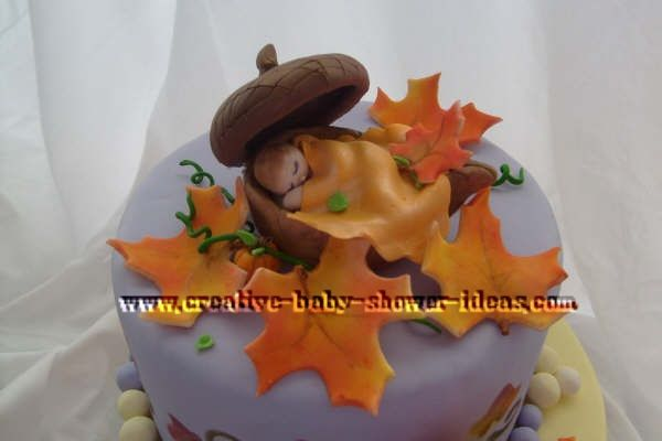 fall baby cakes baby shower ideas pinterest