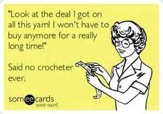 Crocheting Jokes : crochet humor...really makes me think of my grandmother and her ...