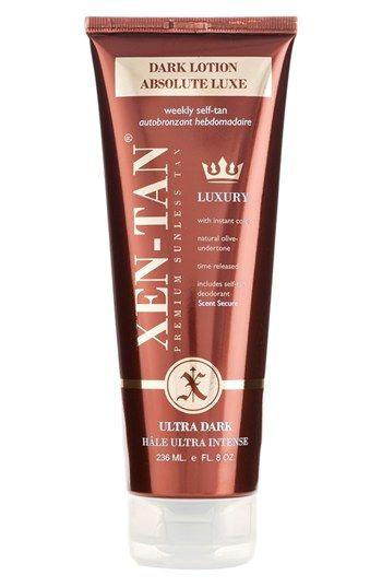 Xen-Tan® 'Absolute Luxe' Dark Lotion | Nordstrom. Shaeffer (Pinterest ...