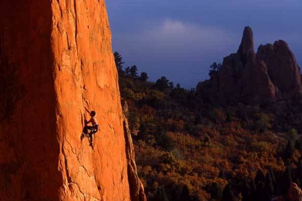 Rock climb garden of the gods sporty things pinterest for Garden of the gods rock climbing