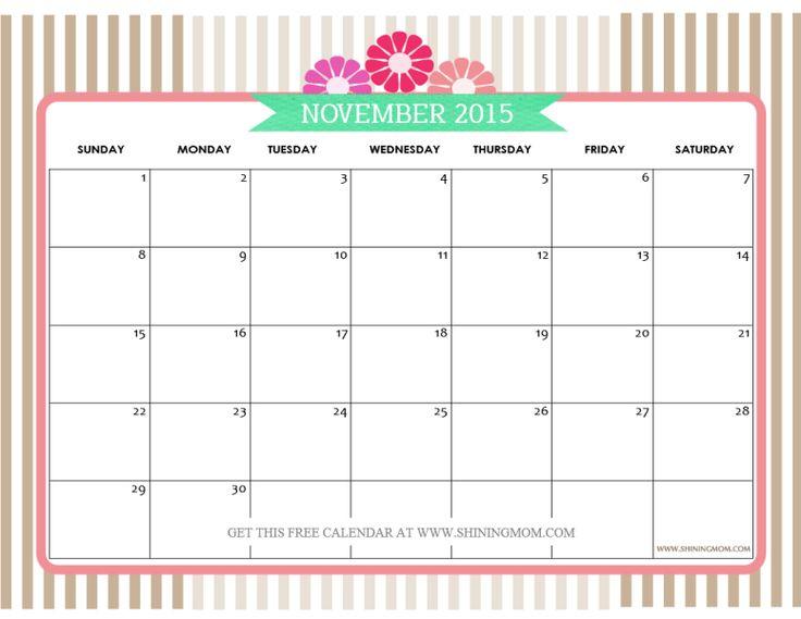 Blank Calendar Doc