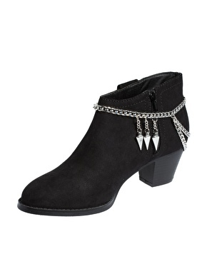 enlarge asos pair of hanging spike shoe chains