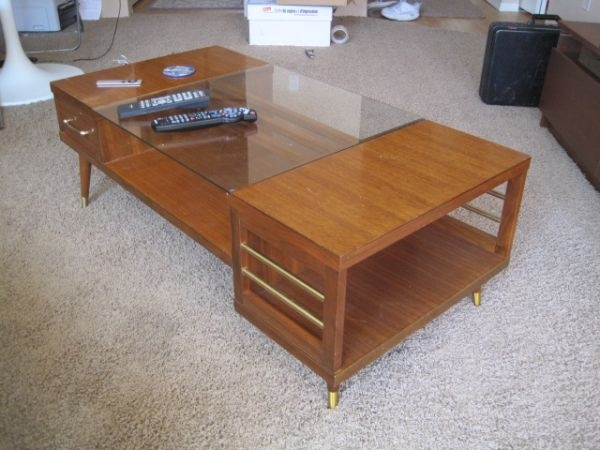 Mid century modern coffee table retro home mid century modern pin Craigslist coffee tables