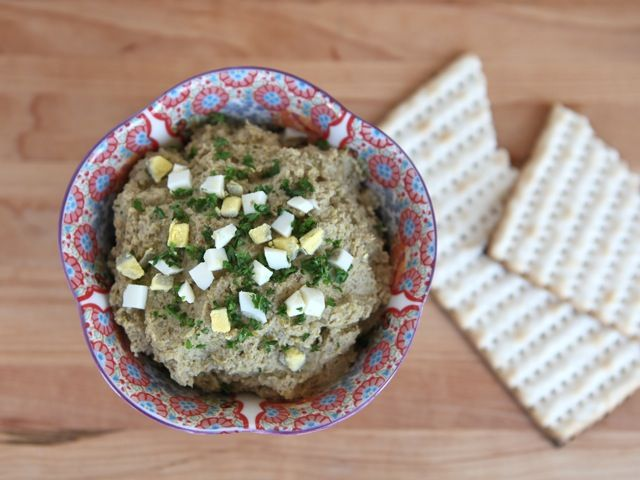Vegetarian Chopped Liver (from The Shiksa in the Kitchen, @theshiksa)