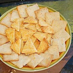 Parmesan bacon crackers | Appetizers | Pinterest