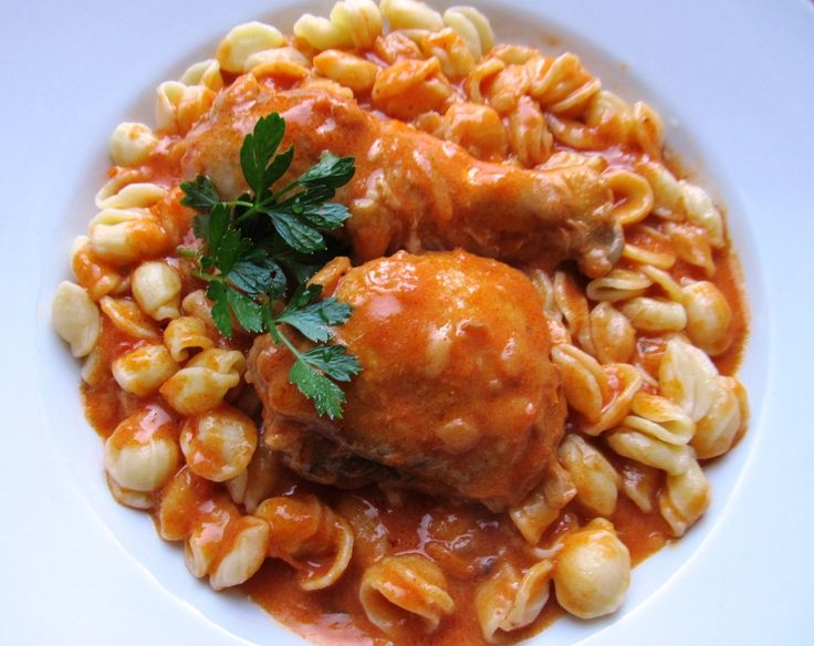 Chicken Paprikash | Hungarian Food | Pinterest