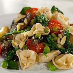 Spinach and Tortellini from Good Housekeeping