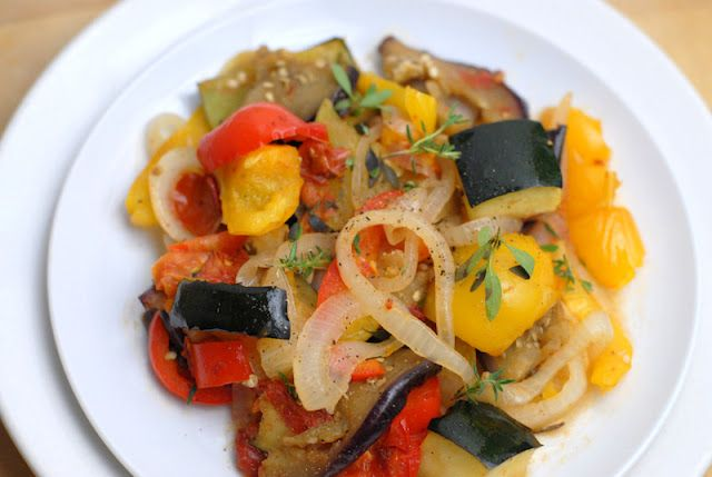 Fresh Basil Ratatouille Recipe — Dishmaps