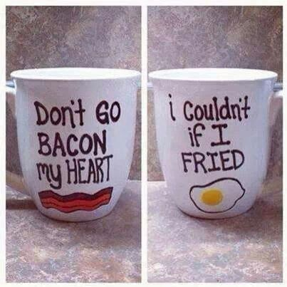 bacon valentine's day present