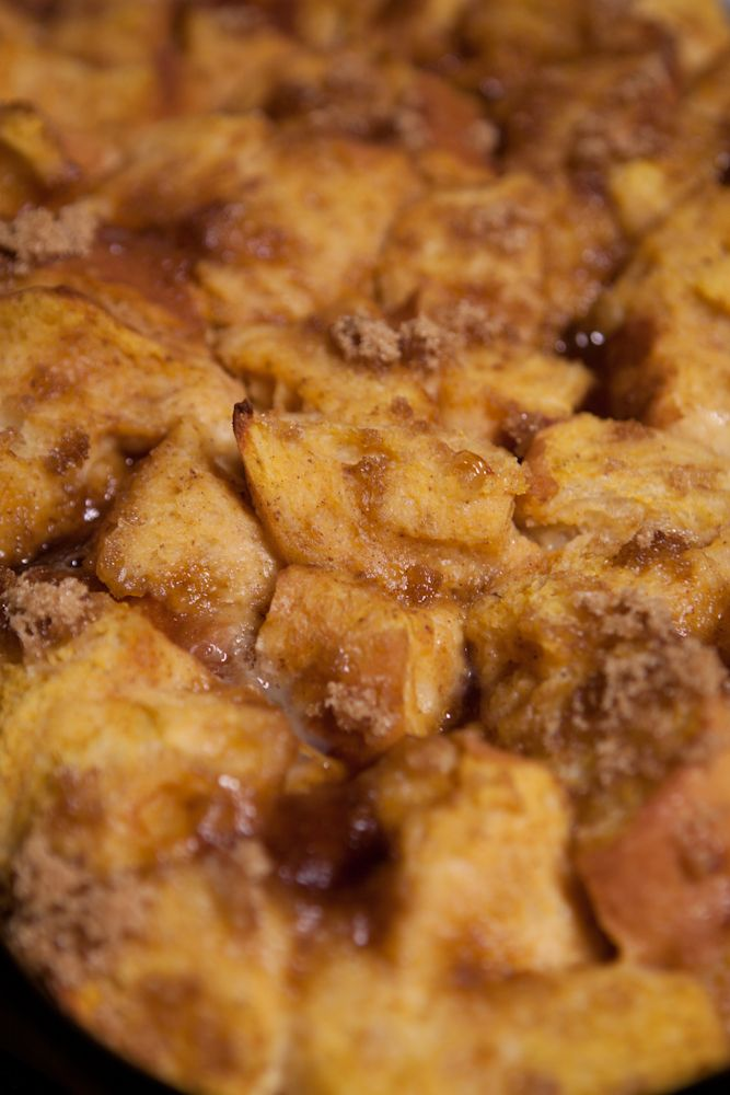 Pumpkin French toast -- they say it smells like you're baking pumpkin ...