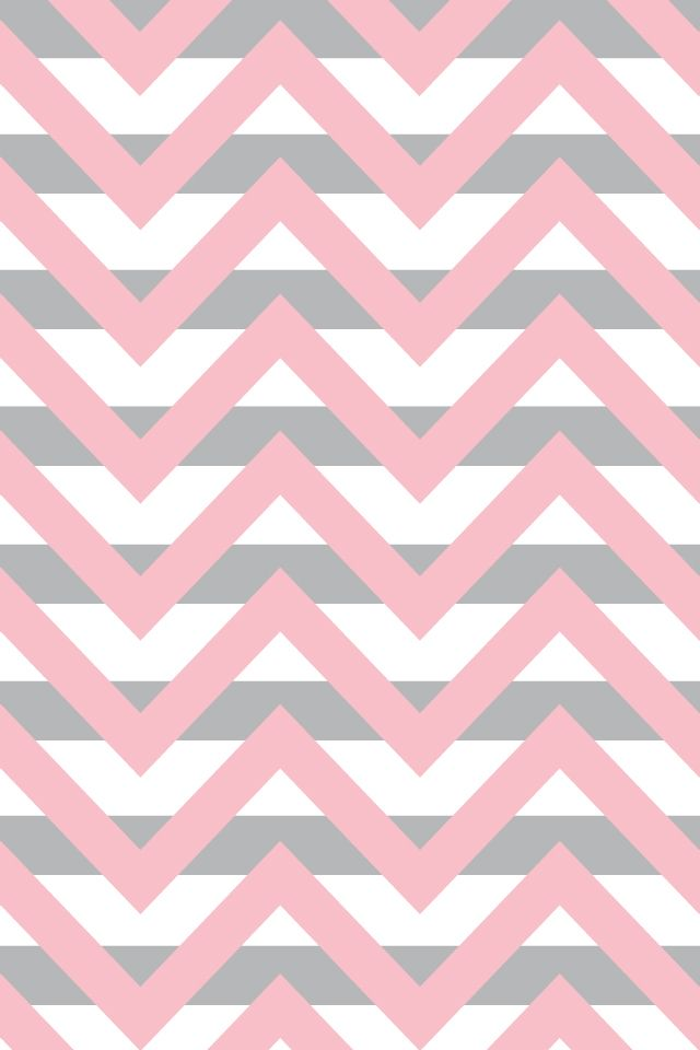 Pink gray chevron iphone wallpaper pinterest for Red and grey wallpaper