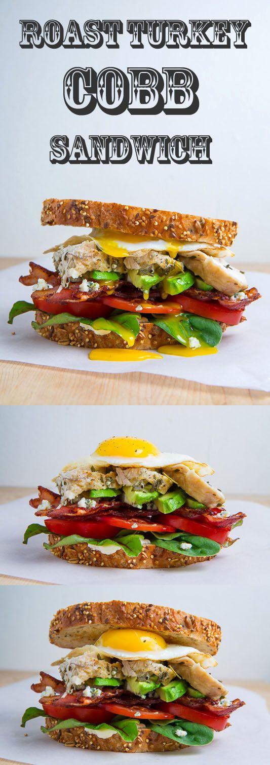 Roast Turkey Cobb Sandwich | Recipe