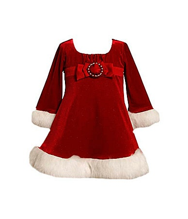 Rainey amp rylee s white christmas dresses in green or red bonnie baby