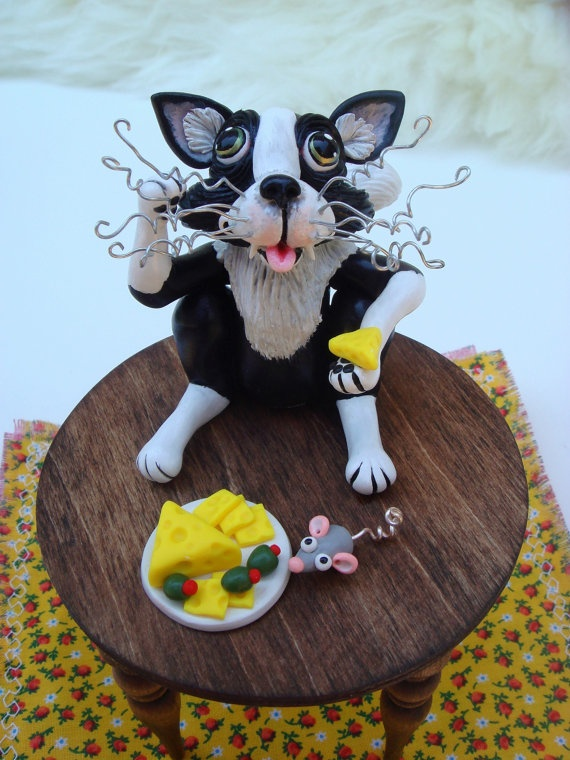 Chester the Kitty Cat Cat Lover Christmas Wedding by SamsFurKids, $69 ...