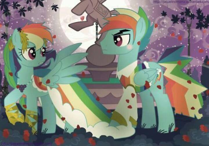 Rainbow dash x rainbow blitz gala my little pony friendship is magic