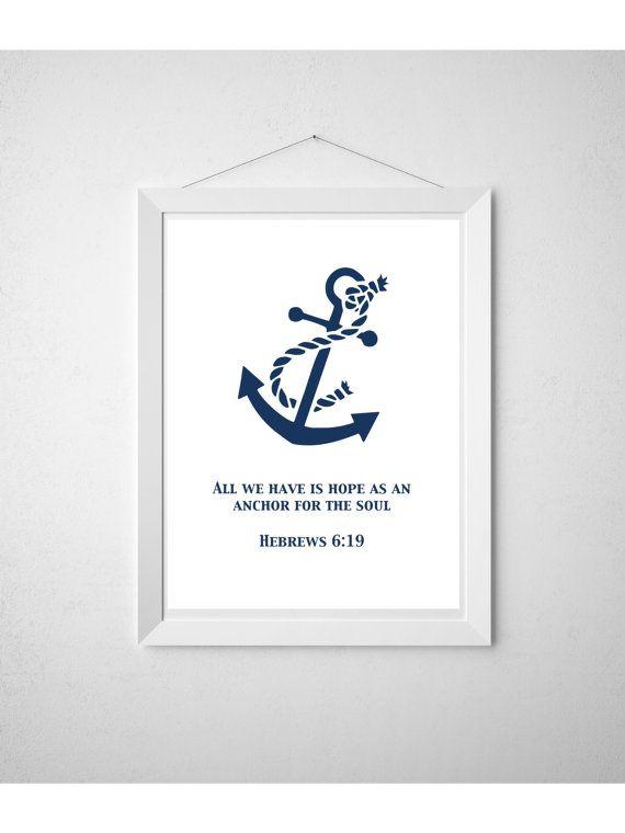 diy printable wall art nautical print baby boy nursery art
