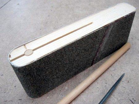 Woodworking sanding - picture