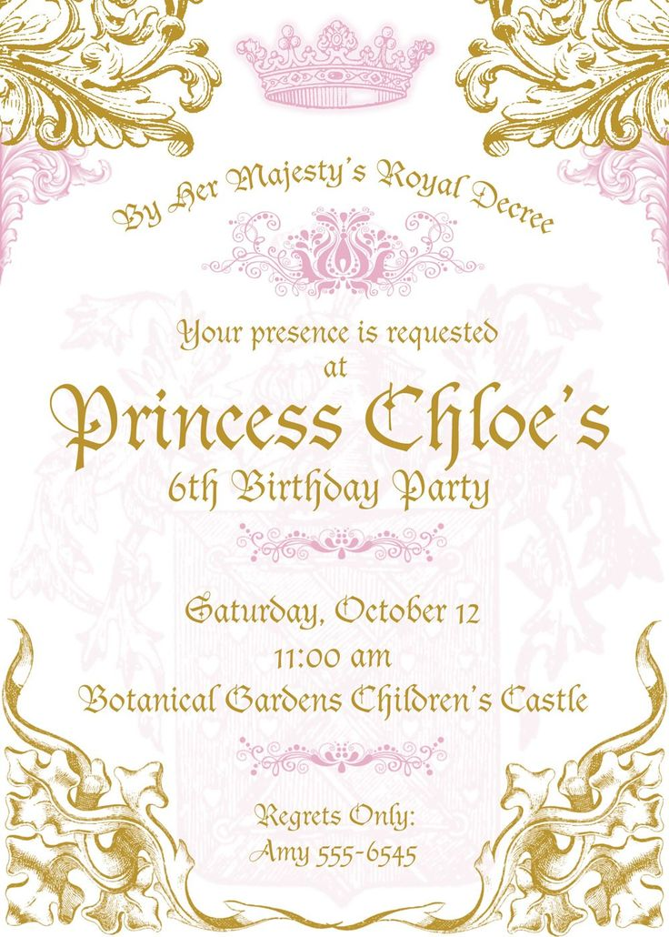 Prince First Birthday Invitations was beautiful invitation ideas