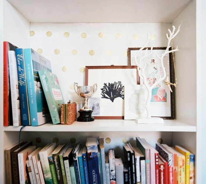 Awesome Bookcase Wallpaper