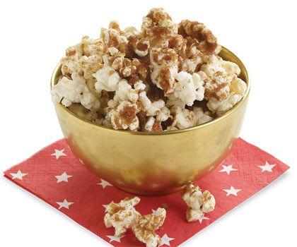 Sugar & Spice Popcorn | Dashrecipes.com