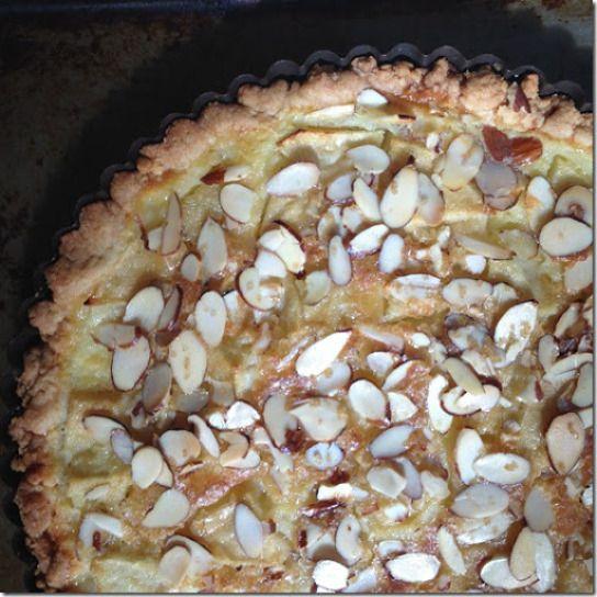 apple and almond custard tart | Cake & Pie | Pinterest