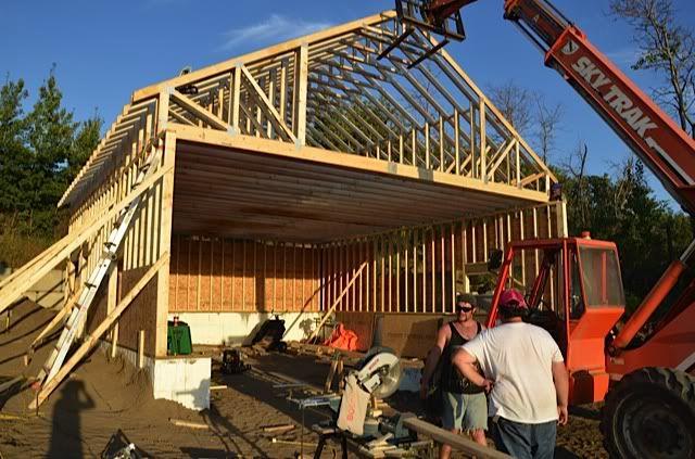 Roof Truss Advantage in addition myfreepolebarnplans in addition Storage Trusses likewise 26 X 30 Garage Plans further Showthread. on pole barn truss design