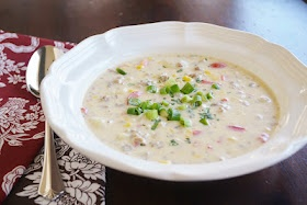 Hot Italian Sausage and Corn Chowder | Food - Soups | Pinterest