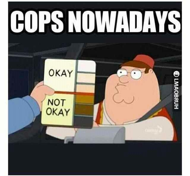 stereotypical cop quotes