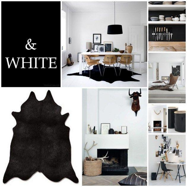 Black And White Interiors By Myra Madeleine