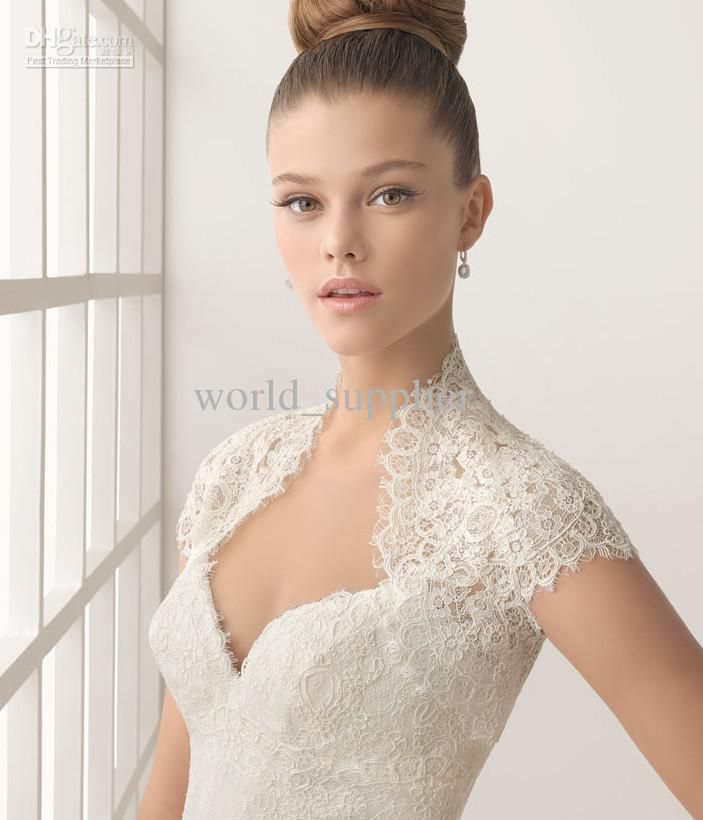 Pin by tn nguyen on wedding ideas pinterest for Wedding dress bolero jacket