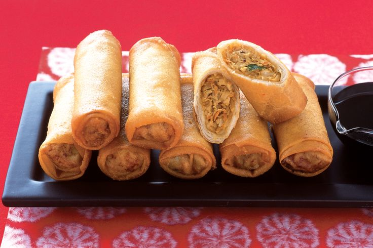 There is nothing better than fresh, homemade spring rolls. Make up ...