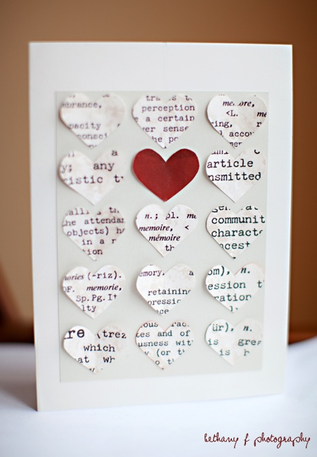 diy valentine's day card for husband
