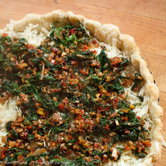 ... swiss chard hui gua niu pi cai spinach and swiss chard pie swiss chard